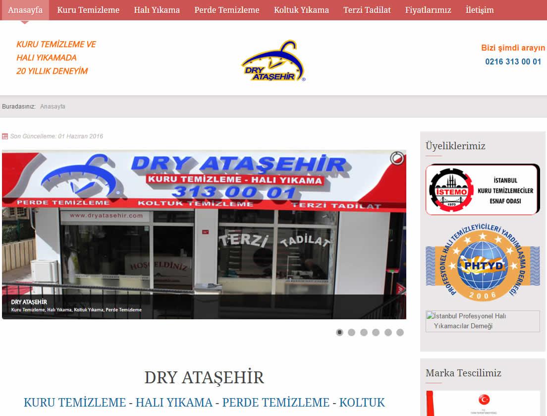 Dry Ataşehir kuru temizleme